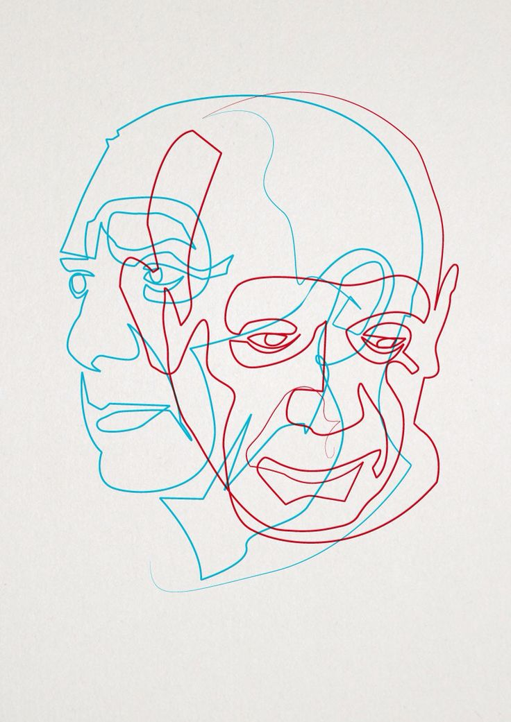 Contour Line Drawing Picasso : Best images about oneliner on pinterest