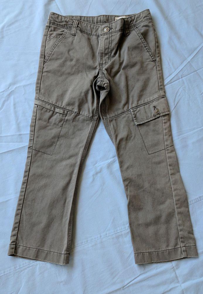 Lee Slim Fit Cargo Boys Gray Adjustable Waist Pants Sz 8 Husky (L)  #Lee #CargoCombat #Everyday