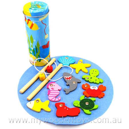 Magnetic Fishing Game in Tin