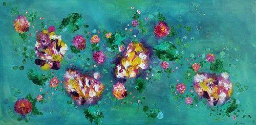 """Anja Saier, """"Eintauchen"""" (6) Mit einem Klick auf """"Als Kunstkarte versenden"""" versenden Sie kostenlos dieses Werk Ihren Freunden und Bekannten."""
