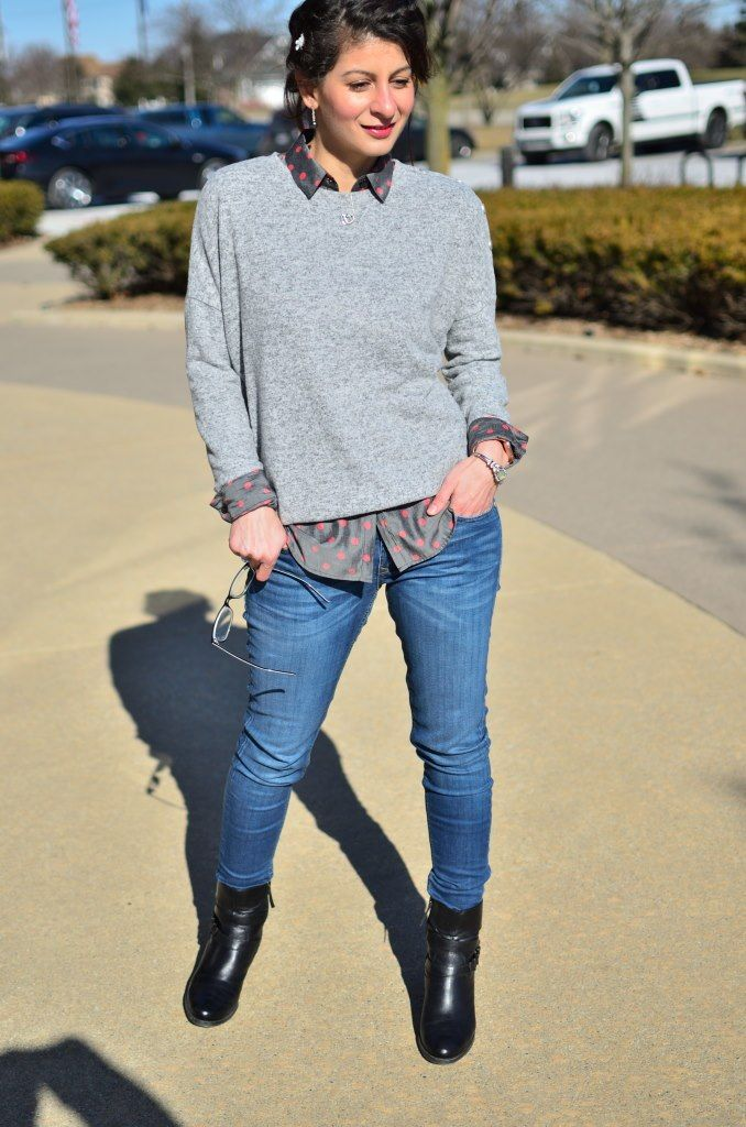 Winter lunch outfit: Semi-Casual