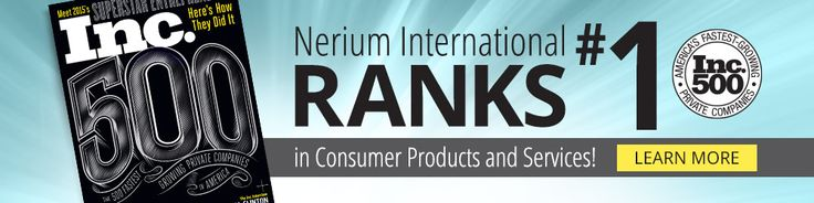 Nerium International Debuts as #1 Consumer Products and Services Company on Inc. 500 List. Check it out on link below. Whant to try it?  visit www.skincare20.nerium.com http://www.prnewswire.com/news-releases/nerium-international-debuts-as-1-consumer-products-and-services-company-on-inc-500-list-300127455.html?tc=eml_cleartime