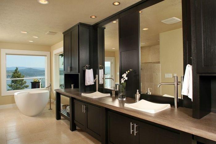 15 ванных комнат с двойными раковинами – Вдохновение