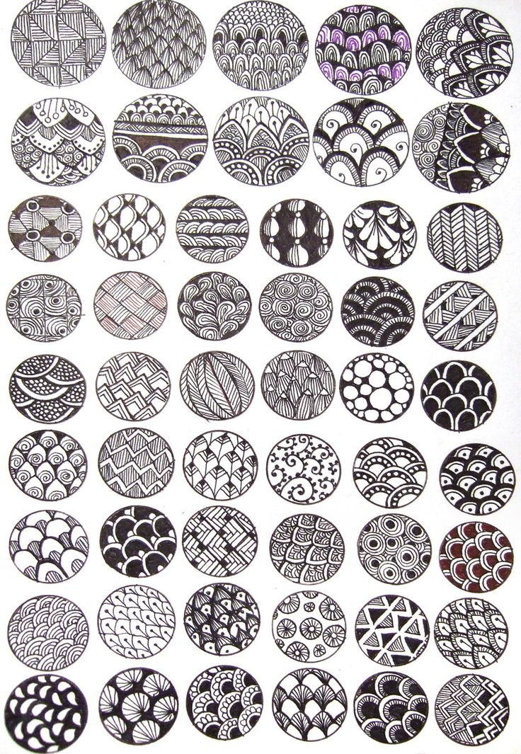 Zentangle DIY ink bubbles tutorial by ~yael360 on deviantART This could be fun to turn into a collaborative mobile with each child designing one disk. Maybe a photo of their face could be attached to the back to identify the artist.
