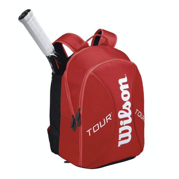 Tour Red Small Tennis Backpack | Wilson Tennis