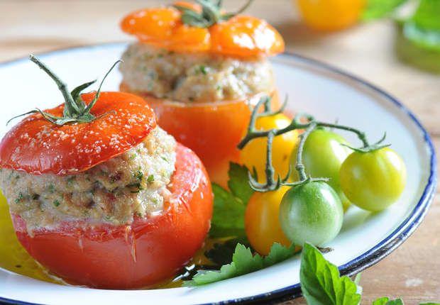 Tomates farcies à l'agneauVoir la recette des Tomates farcies à l'agneau >>
