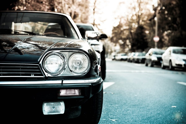 Jaguar xjs by Vlad Cioplea, via Behance