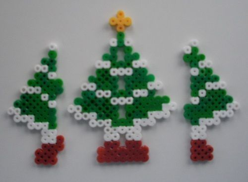 The wings of the 3d tree   Hama Bead Patterns