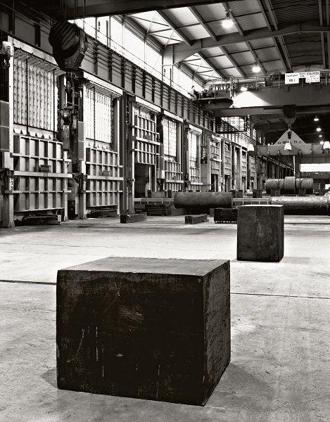 Richard Serra's Studio (foundry)