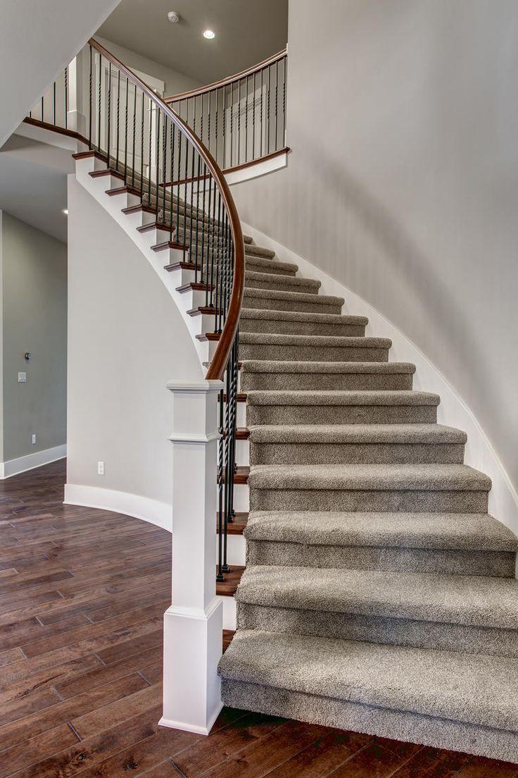 Beautiful spiral staircase found in the Astoria home in Sammamish, Washington