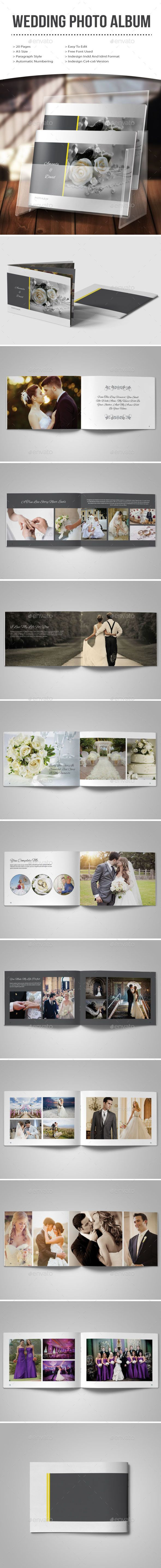 88 best Wedding Photo Album Template images on Pinterest | Photo ...