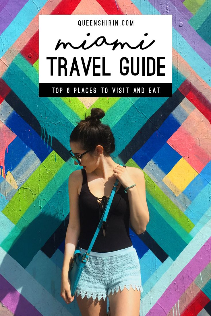 This Miami Travel Guide lists the top six places to visit and best restaurants to eat at in this vibrant, culturally-rich city in Florida. From the most Instagram-worthy foodie spots to the best blogger OOTD locations, I've got you covered.  MIAMI'S BEST PLACES TO VISIT: Brickell City Centre, Calle Ocho in Little Havana, Miami Design District, South Beach, Lincoln Road, and Wynwood Walls. MIAMI'S BEST PLACES TO EAT: Old's Havana, Versailles, OTL, Havana 1957, Tacology, and Miam Cafe