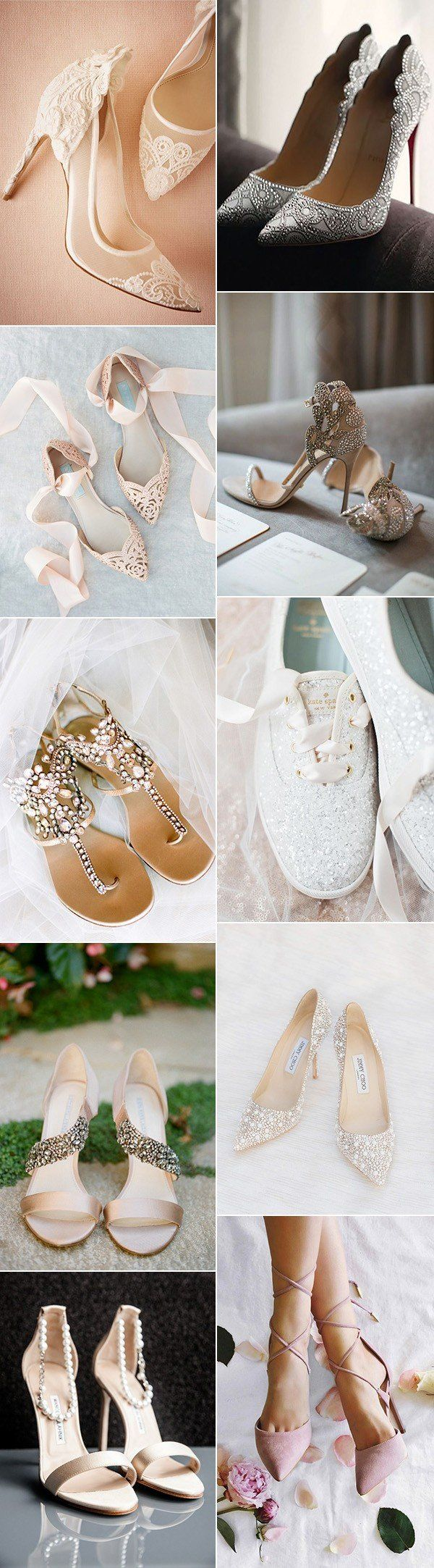 top 20 hottest bridal wedding shoes for 2017 trends