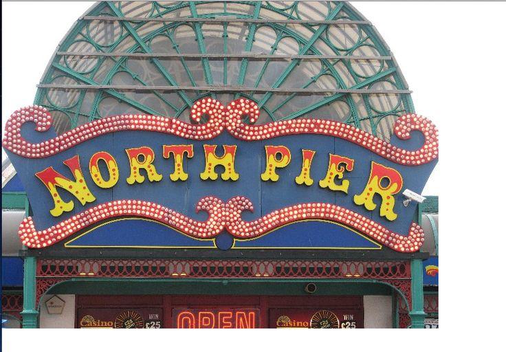 Blackpool pier logo