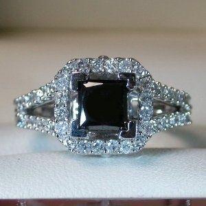 Best 25 Black diamond wedding rings ideas on Pinterest Black