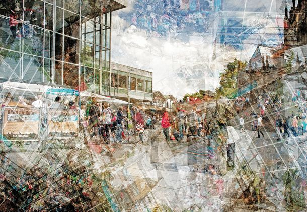Creative Photo Ideas for October: 07 Shoot an urban montage