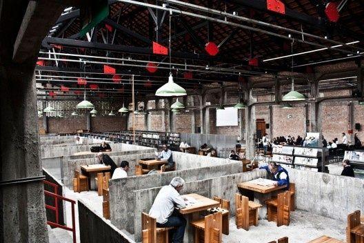 Sesc Pompeia - Biblioteca -