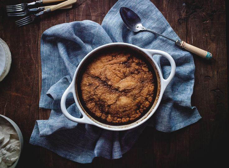 Pouding Chômeur (maple pudding cake):