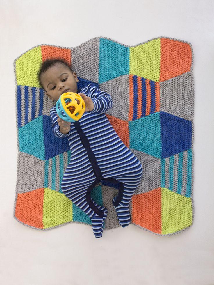 Modern Crochet Patterns For Baby Blankets : 25+ b?sta ideerna om Modern Crochet p? Pinterest ...