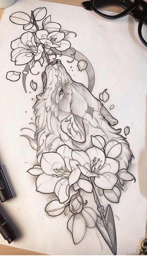 35 idées pour créer de superbes dessins de tatouage – # Impressionnant # Dessins # Idées # Ta…