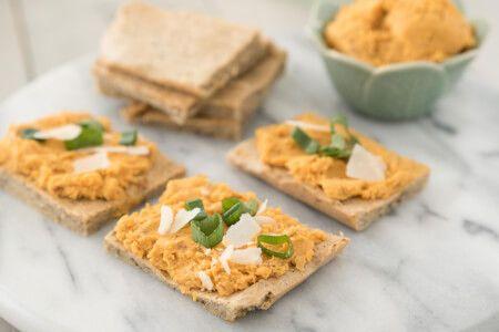 Sweet Potato Hummus • Joyous Health Recipe