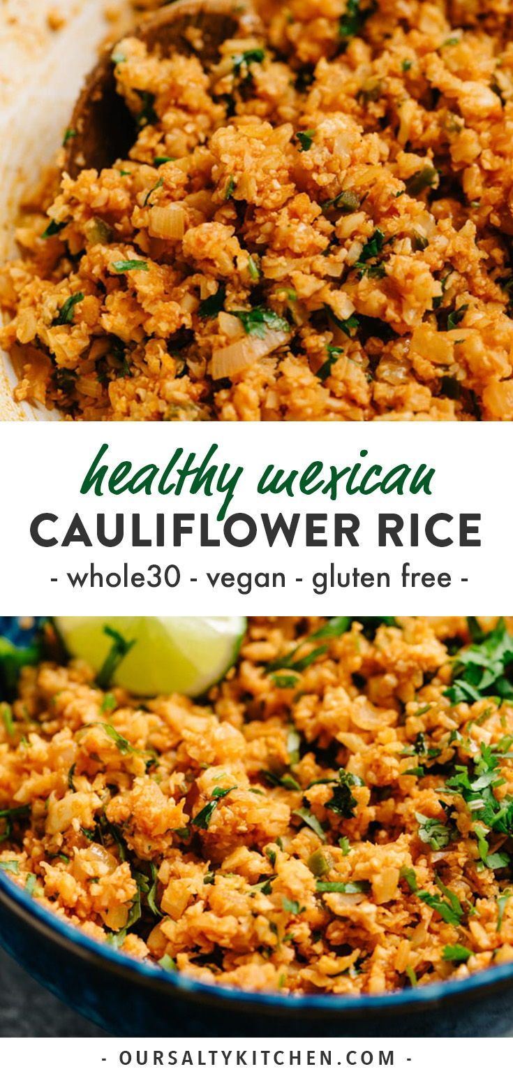 Mexican Cauliflower Rice Jump to Recipeu00b7Print…