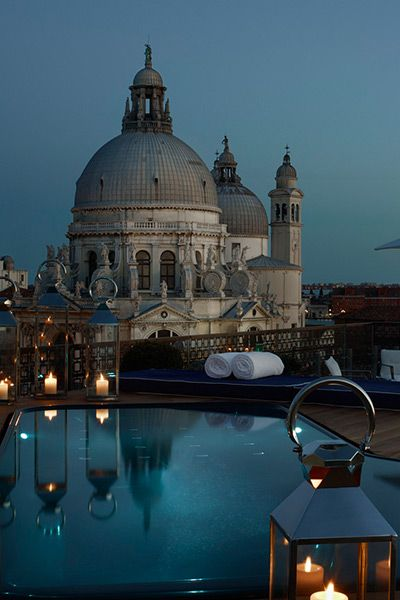 The Redentore Terrazza Suite Plunging Pool. The Gritti Palace, A Luxury Collection Hotel.