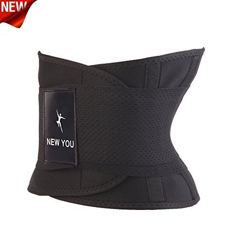 NEW YOU Waist Trainer Weight Loss Ab Belt  Workout Corset and Stomach Slimming Wrap EXCELLENT WEIGHT LOSS WAIST TRIMMER   Waist trainer belt New You is ideal for workout. This technology raises your body temperature and provides burn of calories efficiently, making your body work effective. You can also wear it every day. Waist Trainer Brace should be worn for 3 hours daily. If you combine this waist trainer Brace with the regular exercise, you can see quick results.   BEST FOR IMPR..