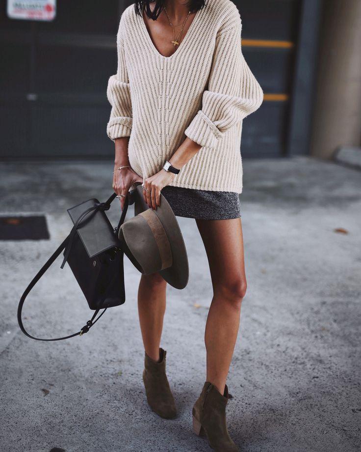 Acne Studios | deborah knit / Janessa Leone | alara hat / Isabel Marant | dicker boots