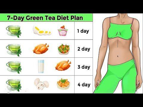 Диета на зеленом чая