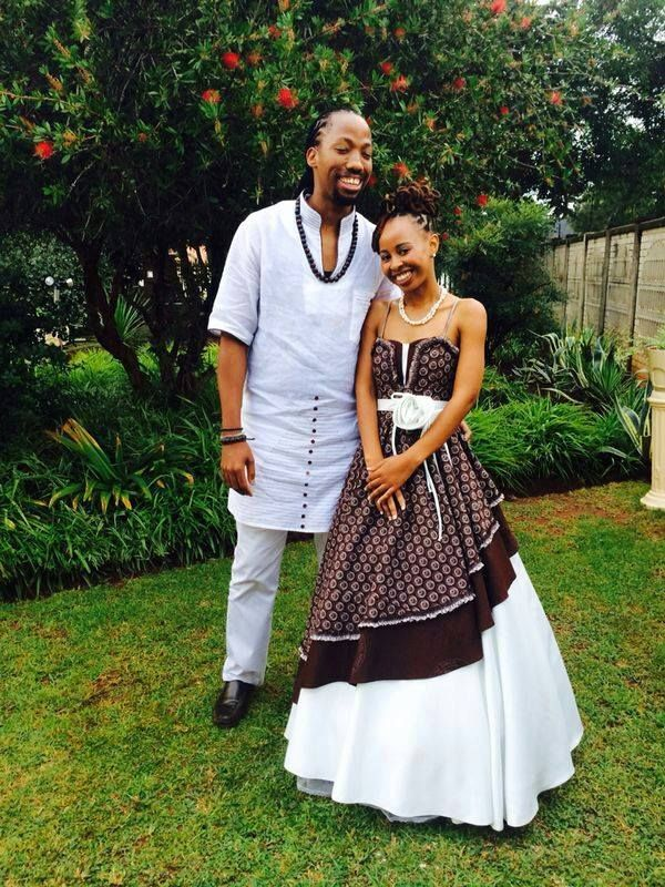 Tswana Traditional Wedding Attire For Couples 2017 Images, Photos are shared you as you can get the Tswana Traditional Wedding Attire For Couples in different color and style pattern from here.