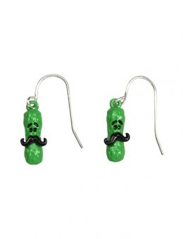 Jusice jewelry for girls | Mustache Pickle Earrings | Girls Earrings Jewelry | Shop Justice