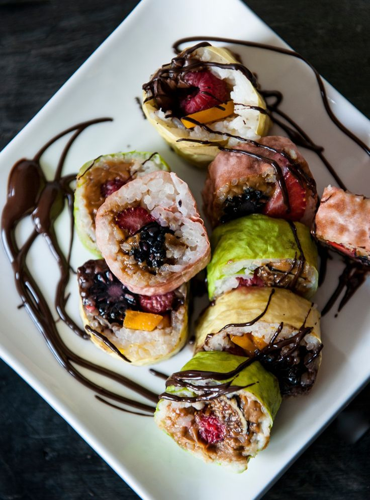 Recette de sushis desserts de Geneviève Everell