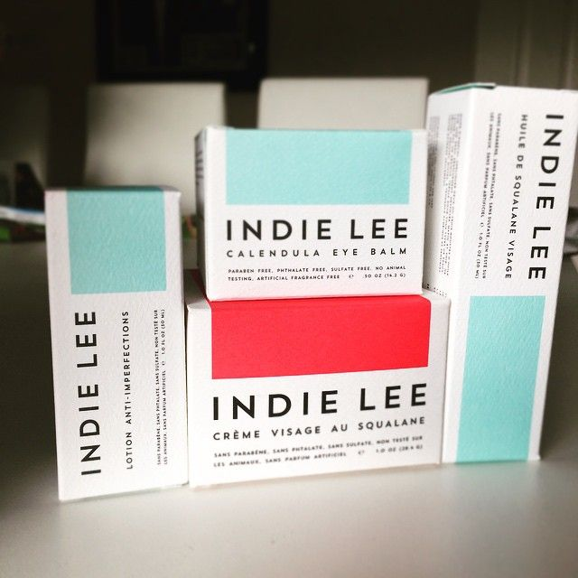 Can't wait to get these products on my face!! @indie_lee