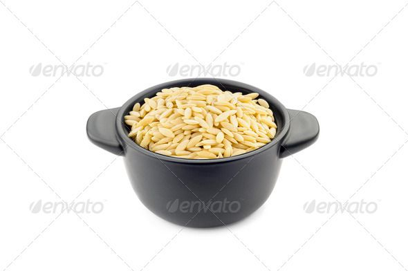"Pasta ""Orzo"" in a Black Cup ...  Minestrone, above, background, black, bowl, carbohydrate, ceramic, close up, closeup, cookware, detail, dish, dry, food, grain, handle, healthy, ingredient, isolated, italian, macro, many, mediterranean, natural, nutrition, nutritious, orzo, pan, pasta, pot, product, raw, rice, risoni, rustic, traditional, tureen, uncooked, vegetarian, wheat, white, white background, yellow"
