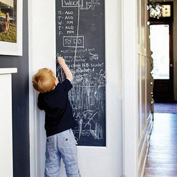 Chalk Board Blackboard Stickers (45x200cm) //Price: $15.99 & FREE Shipping //     #DIY