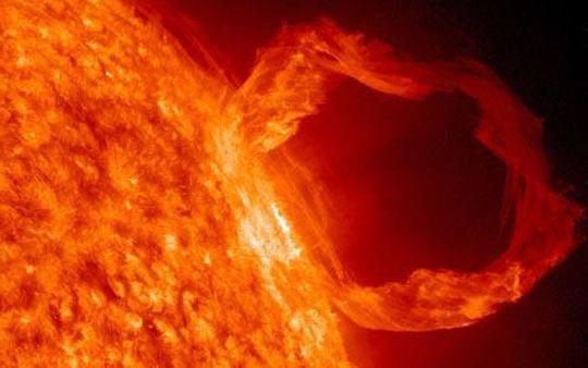 Heteindevandewereld.nl - EMP - EMP als gevolg van een zonnevlam