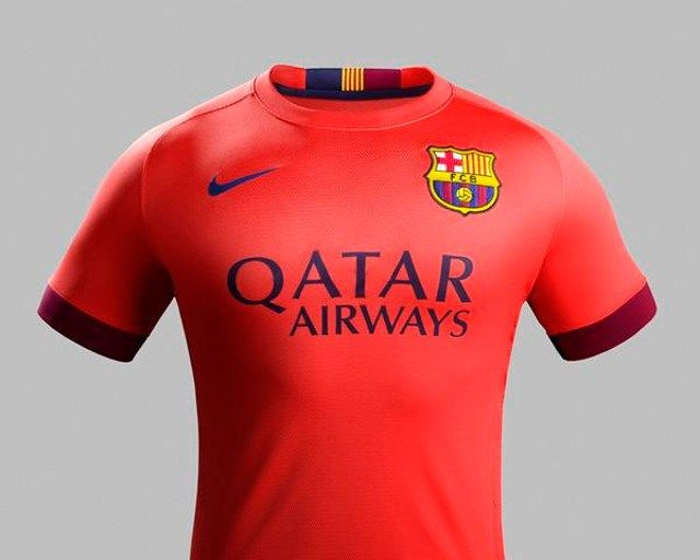Jersey Barcelona Away Kit 2014/2015