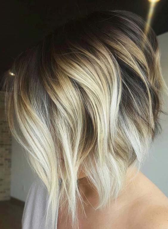Bob haircuts are one of those styles which don't need anymore introduction in hairstyling industry. There are a lot of women around the world who use to wear this trendy haircut for attractive hairstyles. So you have to browse here for texture angled bob hairstyles 2018 for elegance and beauty.