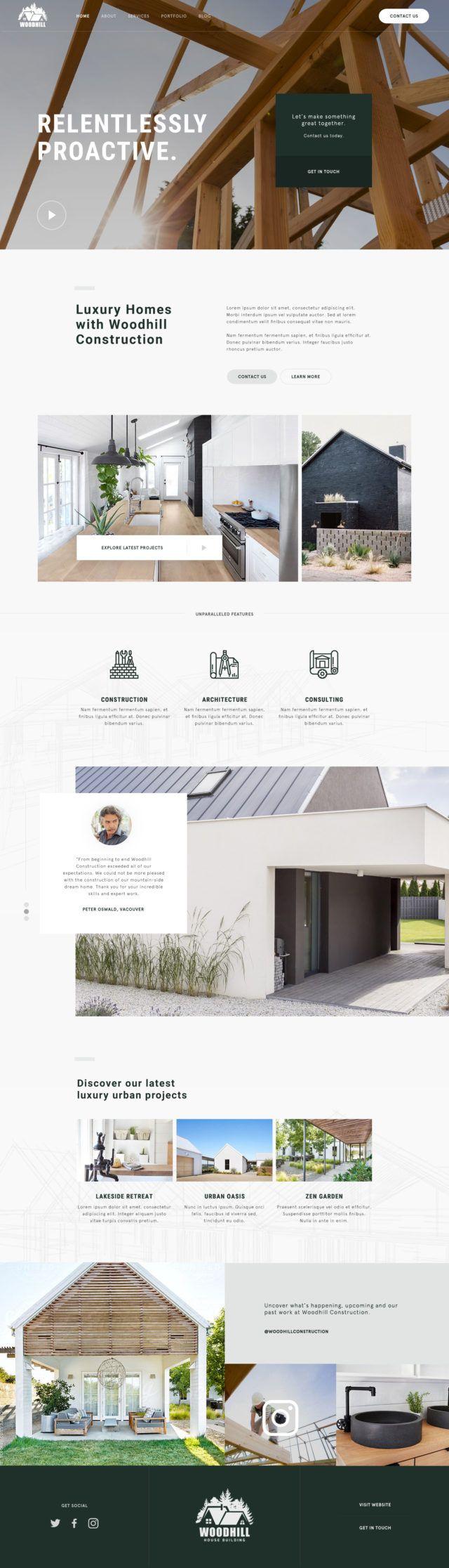 754 best Web & Mobile Design images on Pinterest | Design websites ...