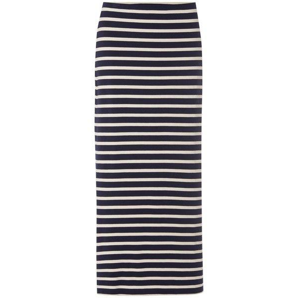 White Stuff Lola Striped Maxi Skirt, Navy (£50) ❤ liked on Polyvore - Best 25+ Striped Maxi Skirts Ideas On Pinterest Maxi Skirts
