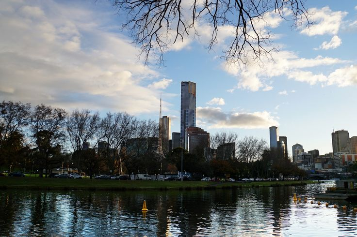 """""""Yarra River And The City"""", CBD, Melbourne"""