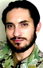 Army SSG Matthew Q. McClintock, 30, of Albuquerque, New Mexico. Died January 5, 2016, supporting Operation Freedom's Sentinel. Assigned to to 1st Battalion, 19th Special Forces Group (Airborne), Buckley, Washington. Died of wounds sustained when hit by enemy small-arms fire while conducting combat operations in Marjah District, Afghanistan.