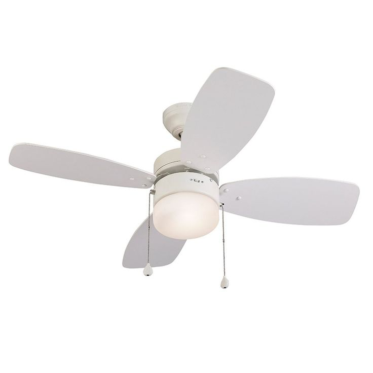 Fancy Shop Harbor Breeze Riverview in White Ceiling Fan at Lowe us Canada Find our Deckenventilatoren Mit BeleuchtungWei