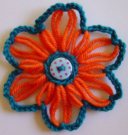 Knitting Flowers On A Loom : Best images about loom knitting on pinterest