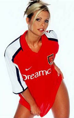 Hot Arsenal girl!