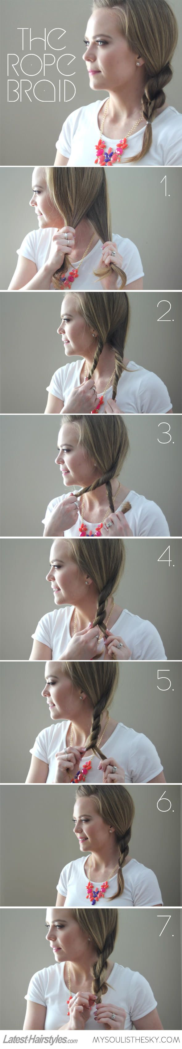 How to Pull Off a Flawless Rope Braid (video included!)