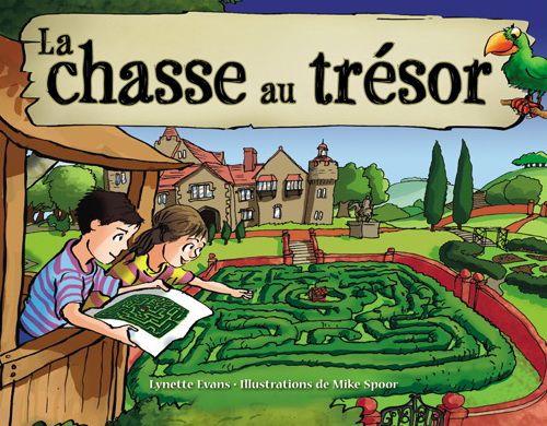 Une initiation à la lecture de cartes grâce à une histoire de chasse au trésor.