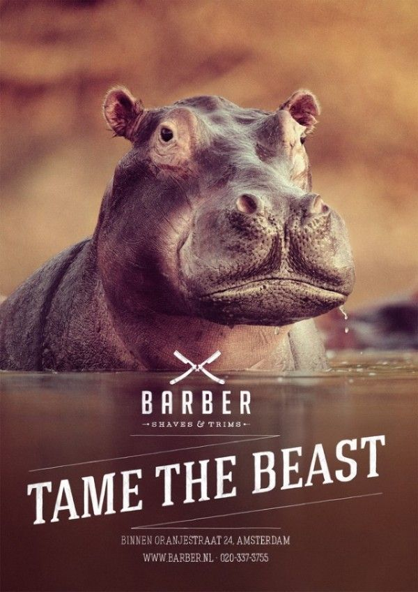 Campagne Barber Shaves  Trims by 180 Amsterdam