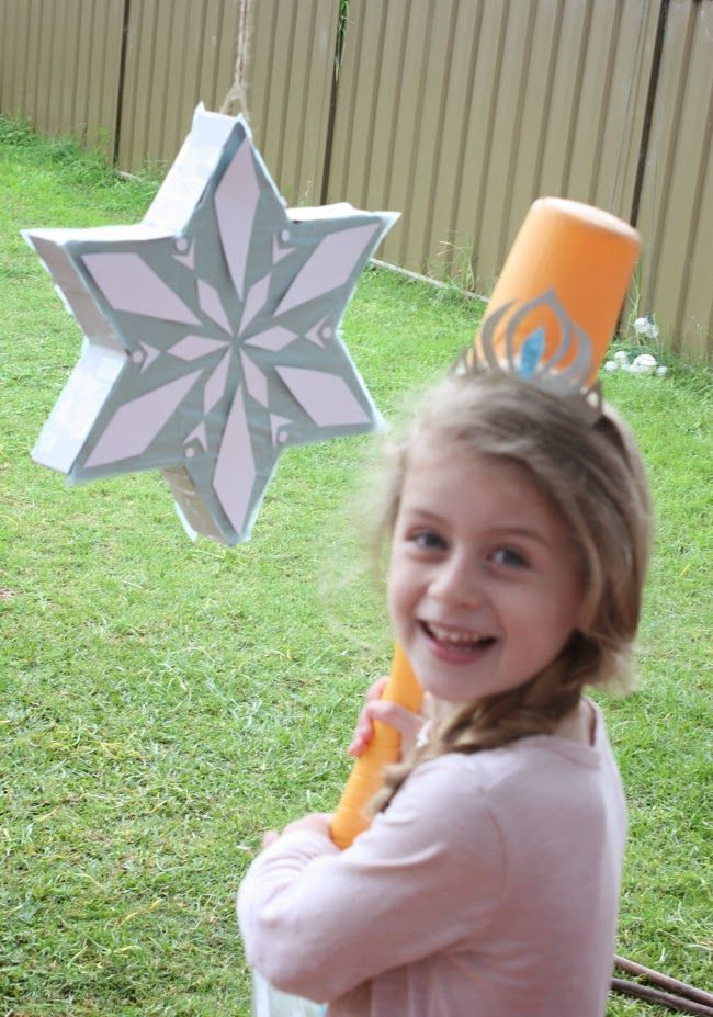 The Happy Home: Layla's Frozen-inspired birthday party